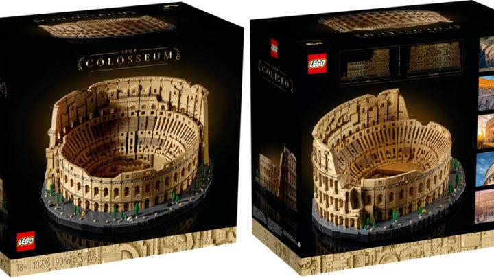 Un tocco di storia a casa con il nuovo set del COLOSSEO LEGO