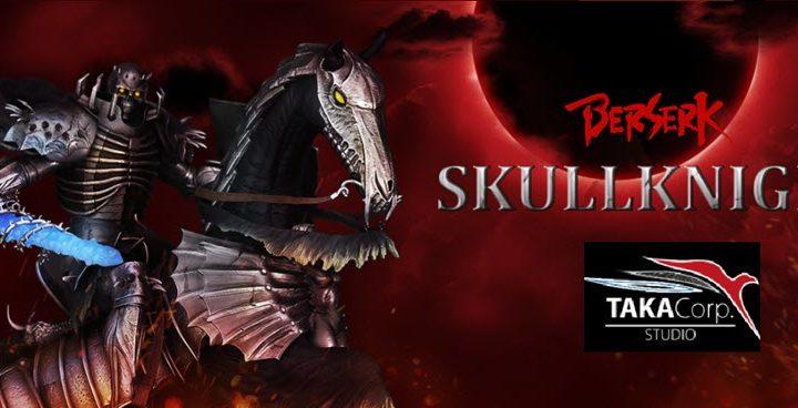 La statua di Skullknight (Berserk) da Taka Corp