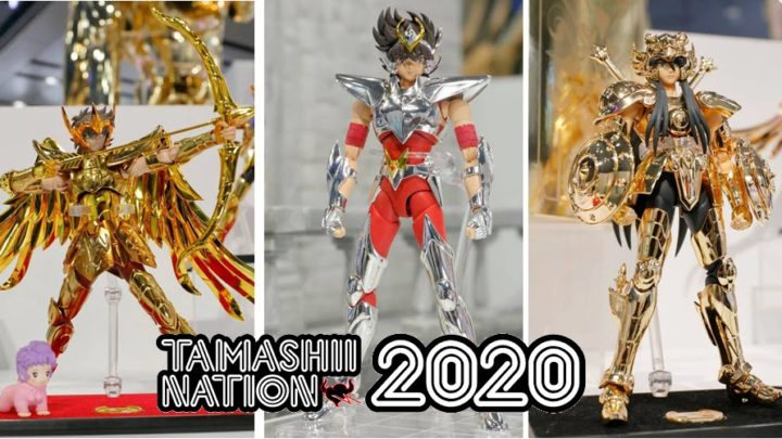 "Tamashii Nations 2020: Myth Cloth da ""Saint Seiya"""