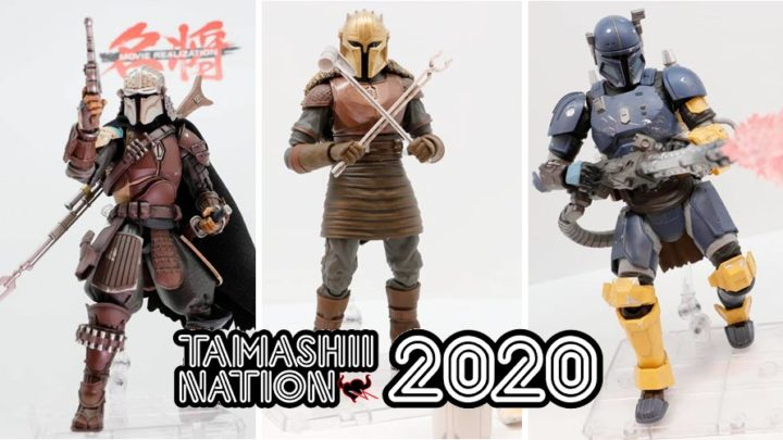 "Tamashii Nations 2020: Le figure da ""The Mandalorian"""
