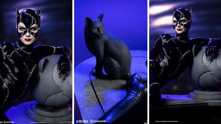Tweeterhead presenta la statua di Catwoman (Michelle Pfeiffer) da Batman Returns