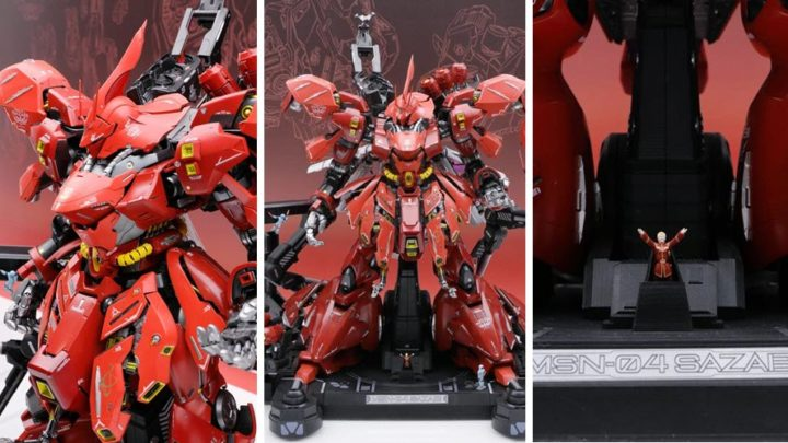 MSN-04 Sazabi Metal Structure da Tamashii Nations