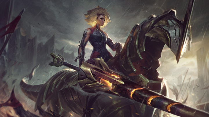 League of Legends: Rell la vergine di ferro