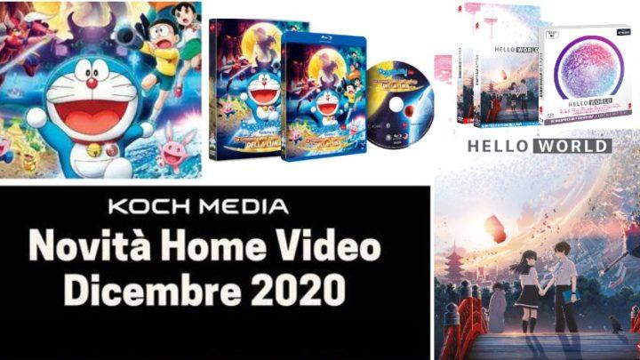 Anime Factory: Le novità Home Video di dicembre 2020