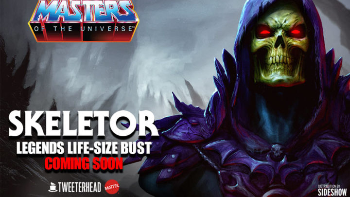 "12 days of Sideshow ""Day 5"" – Skeletor Life size bust"