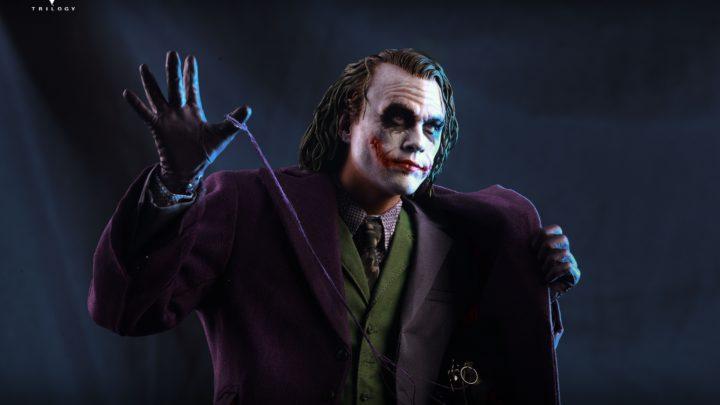 La statua di Joker (Heath Ledger) in scala 1/4 da Queen Studios