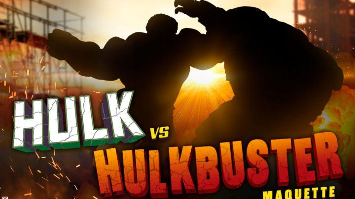 "12 days of Sideshow ""Day 8"" – Hulk vs Hulkbuster Maquette"