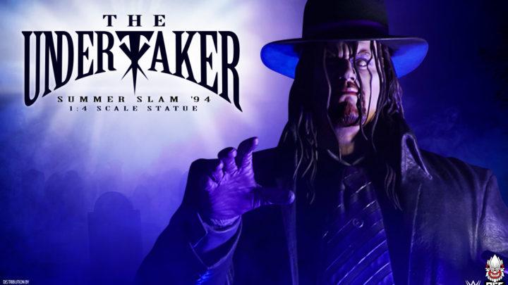"PCS presenta la statua di ""The Undertaker"""