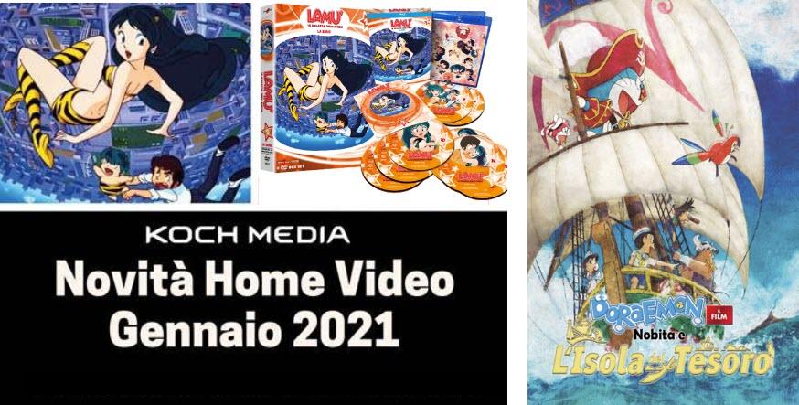 Anime Factory: Le novità Home Video di gennaio 2021