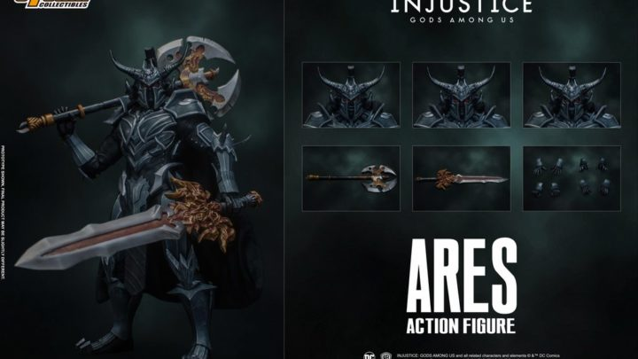 """Action figure di Ares da """"Injustice: Gods Among Us"""""""