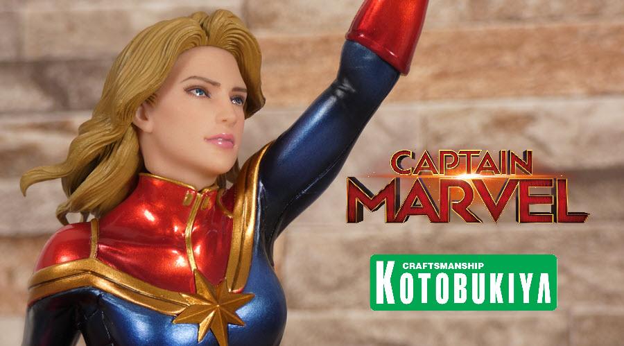 Recensione: Captain Marvel ARTFX Premiere di Kotobukiya