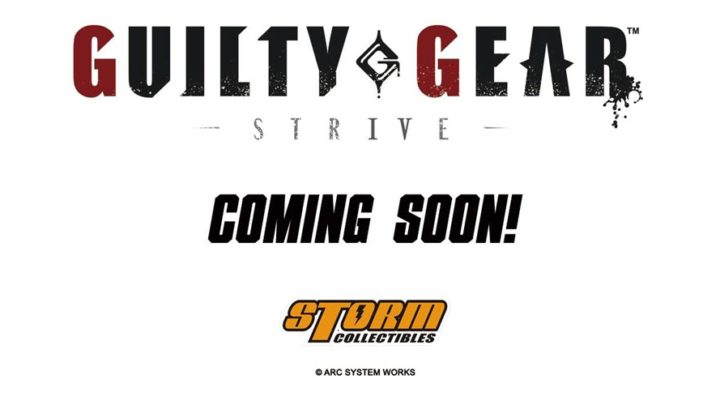 Storm Collectibles annuncia la licenza di Guilty Gear Strive