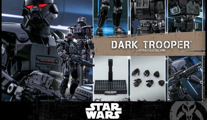 Le possenti Dark Trooper dalla Hot Toys