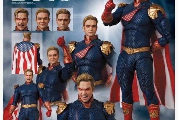 Mafex Homelander (Patriota) da The Boys