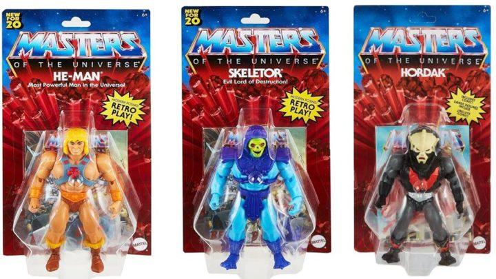 Mattel annuncia la ristampa dei MOTU (Masters Of The Universe)