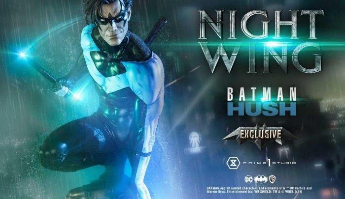 """La statua di Nightwing da """"Batman: Hush"""" di Prime 1 Studio"""