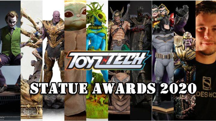 Toyzntech AWARDS 2020 – Le migliori statue del 2020