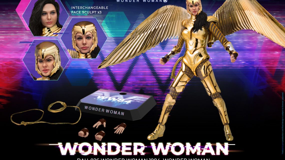 Action figure di Golden Armor Wonder Woman dalla Beast Kingdom