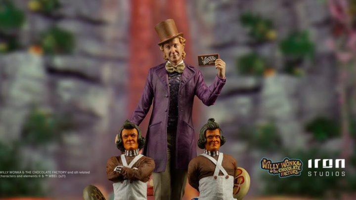 """Dal magico mondo della """"Fabbrica del Cioccolato"""" la statua di Willy Wonka"""