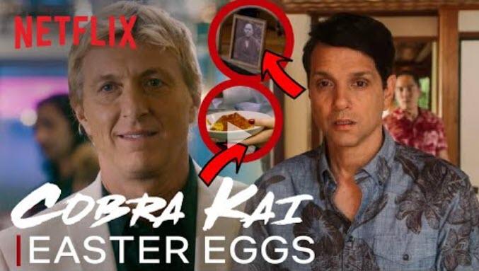 Gli Easter Eggs nella terza stagioen di Cobra Kai