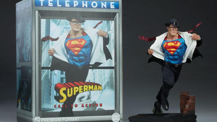 Le immagini del prodotto finito di Superman: Call to Action Premium Format™