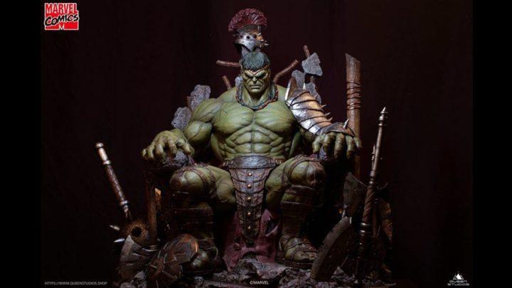 Da Queen Studios la statua di Green Scar