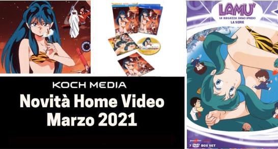 Anime Factory: Le novità Home Video di marzo 2021
