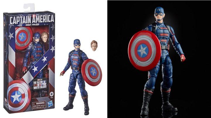 Hasbro presenta l'action figure di John F. Walker Captain America