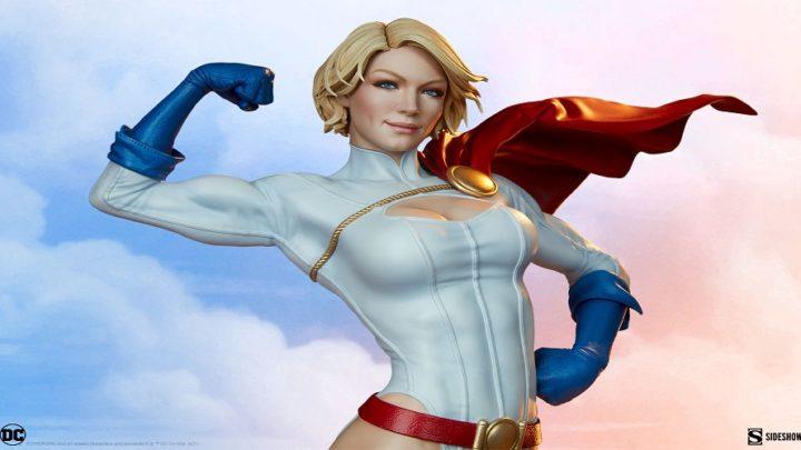 Power Girl Premium Format da Sideshow Collectibles