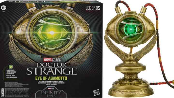 Hasbro annuncia la replica, in scala reale, dell'occhio di Agamotto (Doctor Strange)