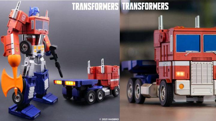Optimus Prime si trasforma da solo grazie ad Hasbro