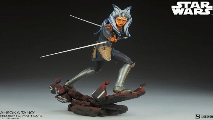 La Premium Format di Ahsoka Tano di Star Wars: Rebels da Sideshow Collectibles
