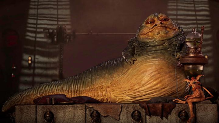 Star Wars Episodio VI: Il Ritorno dello Jedi – Jabba The Hutt da Iron Studios