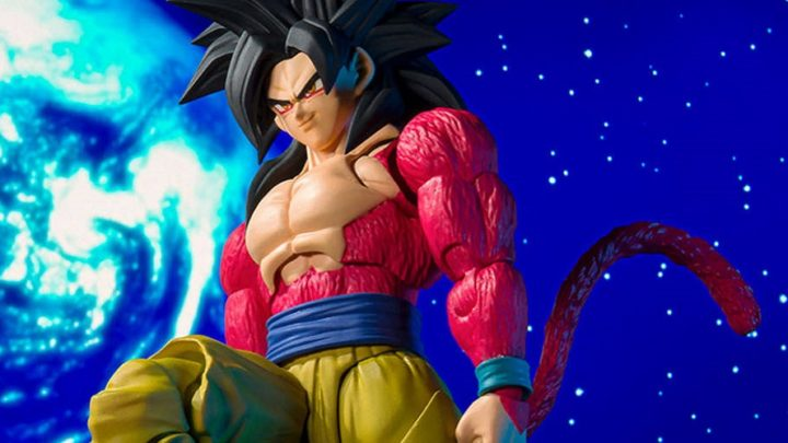 S.h Figuarts Goku Super Saiyan 4!