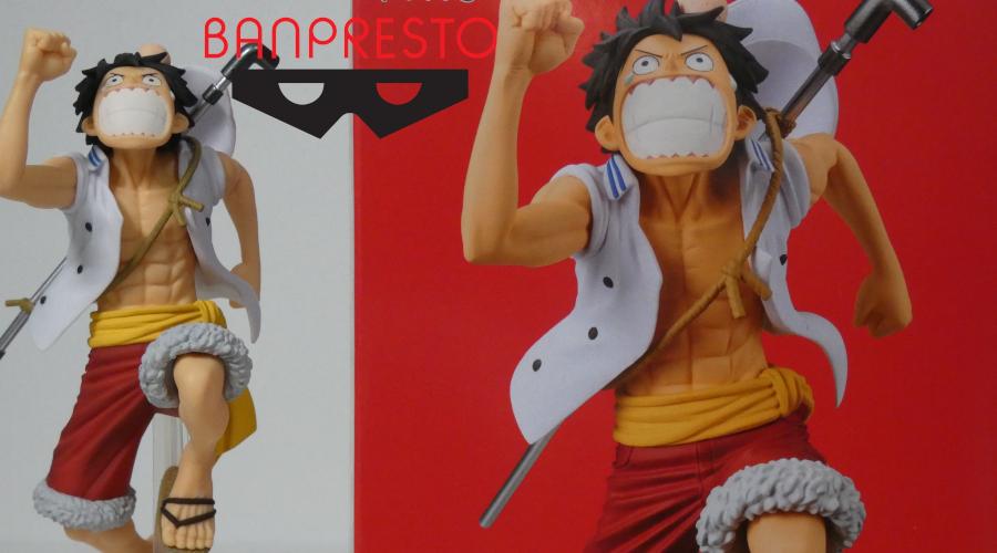 Monkey D. Luffy One Piece Magazine Figure A Piece of Dream No.1 Volume 3 by Banpresto – Recensione