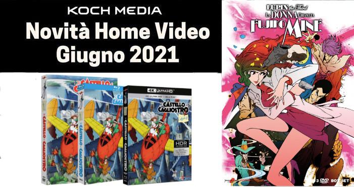 Anime Factory: Le novità Home Video di giugno 2021