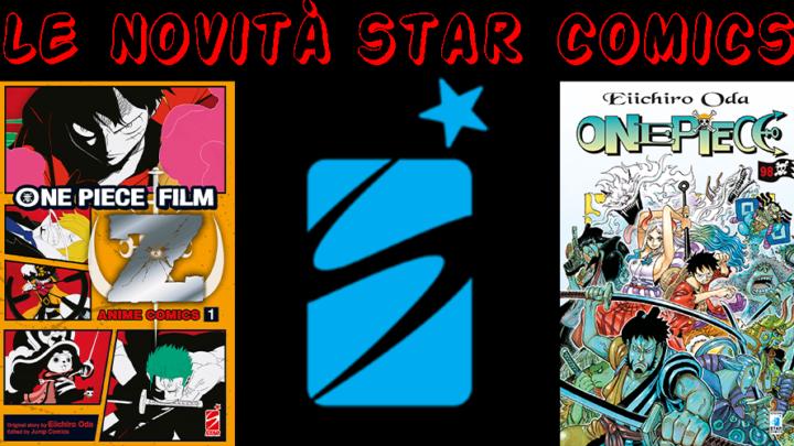 Star Comics: annunciato il numero 98 di One Piece insieme al manga One Piece Z