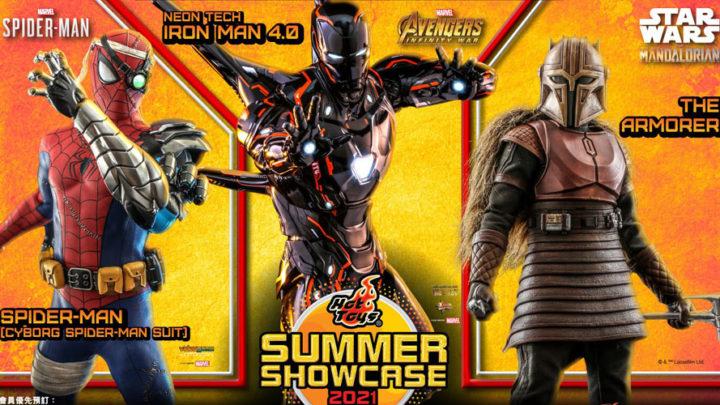 Hot Toys annuncia le Toy Fair 2021: Spider-Man, Iron Man e The Mandalorian