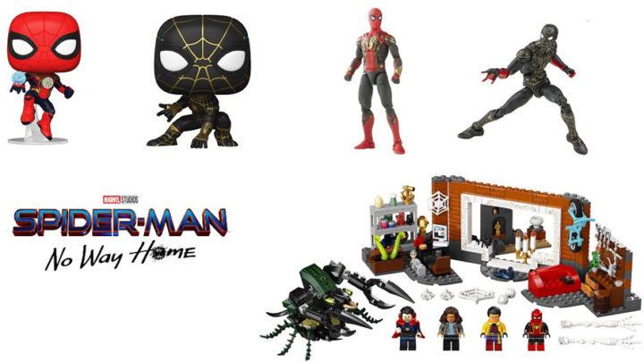 Il Merchadising e il set Lego svelano dettagli del nuov film Spider-Man – No Way Home
