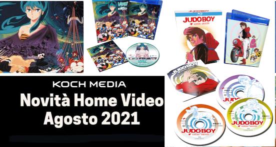 Anime Factory: Le novità Home Video di agosto 2021