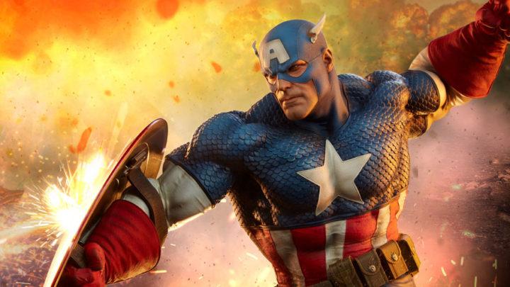 La nuova Premium Format di Captain America da Sideshow