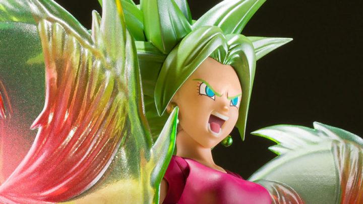 S.H. Figuarts Super Saiyan Kefla tratta da Dragon Ball Super da Tamashii Nations