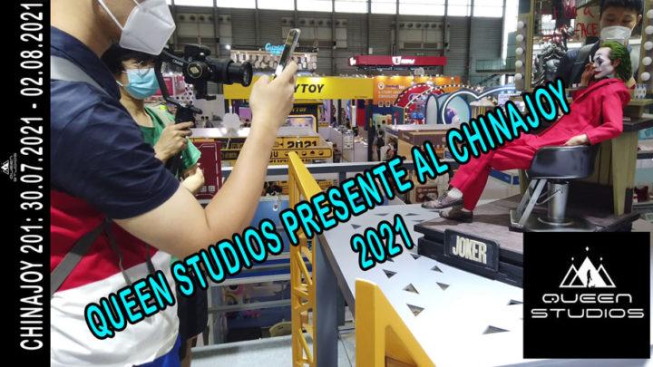 Queen Studios presente al Chinajoy 2021