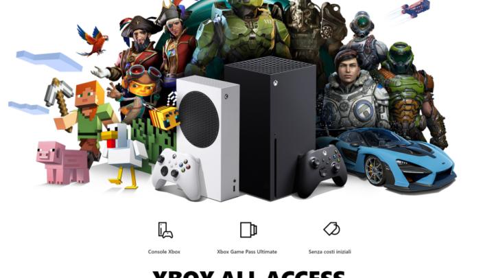 Arriva in Italia Xbox All Access, il programma all-inclusive per un'esperienza di gioco next-gen