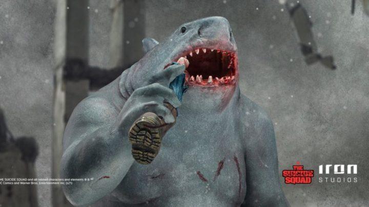 Da The Suicide Squad la statua di King Shark – Iron Studios