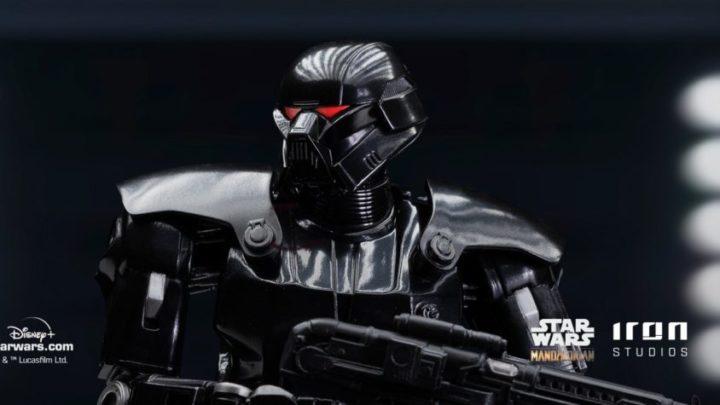 La statua del Dark Trooper da Iron Studios