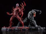 Venom e Carnage ARTFX J Renewal Edition da Kotobukiya