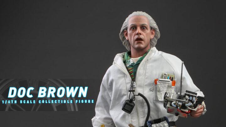 Direttamente da Ritorno al Futuro Doc Brown versione Standard e Deluxe da Hot Toys