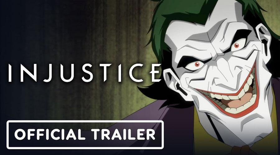 ll trailer del film d'animazione di Injustice