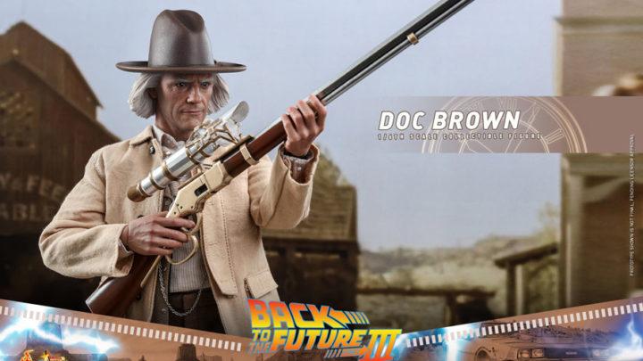 Doc Brown da Ritorno al Futuro III da Hot Toys
